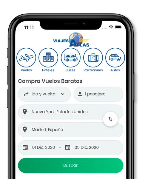 App Viajes Atlas